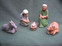 Nativité de la crèche classique