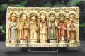 Les 7 Saints guérisseurs dans l'oratoire