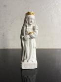 Vierge Marie à l'oiseau couronnée