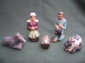 Nativité de la crèche bretonne